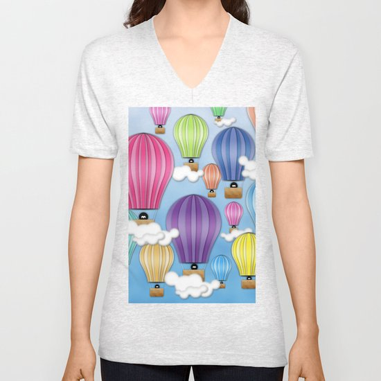 UP! UP! AND AWAAAAAAYYY!  Unisex V-Neck
