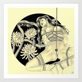 Shibari Art Print