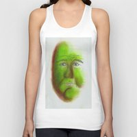 grumpy Tank Tops featuring Grumpy by Stro