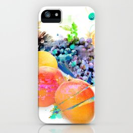 Cosmic Mango iPhone Case