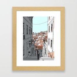 Lisbon City Framed Art Print