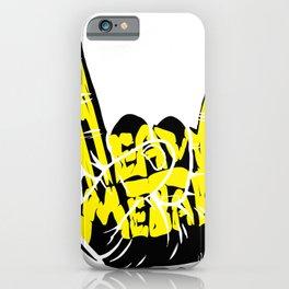 Heavy Metal Hand Pommy Fork Rock Fan Gift iPhone Case