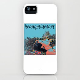 keangelidesart3 iPhone Case