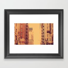 blaaaaa Framed Art Print