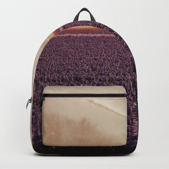 Hyacinth field #3 Backpack