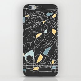 Unwanted Feelings iPhone Skin