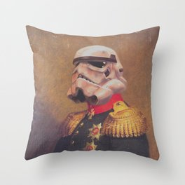 Storm Trooper General | Fanart Throw Pillow
