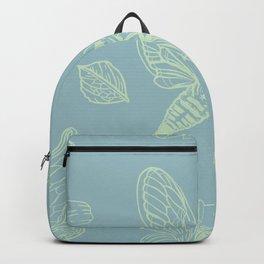 Cicada Moth Pattern Backpack