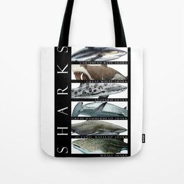 Sharks of the World Tote Bag