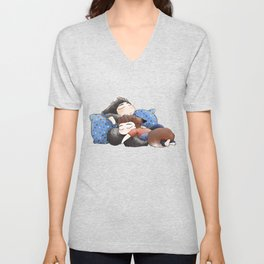 Werecuddles Unisex V-Neck