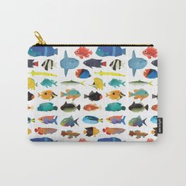 Tropical Fish chart Carry-All Pouch