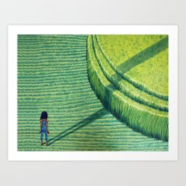 Crop Circle Art Print