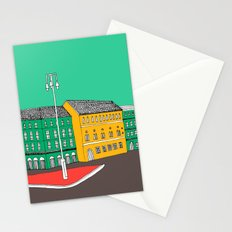 City Life // European Architecture Stationery Cards