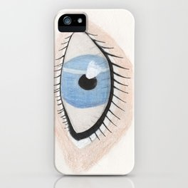 The Eye Sees Neptune iPhone Case