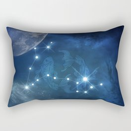 Zodiac sings pisces Rectangular Pillow