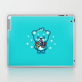Ice Cream Bear Laptop & iPad Skin