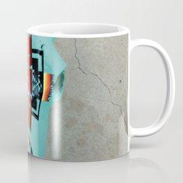 Turquoise Bison Skull Coffee Mug