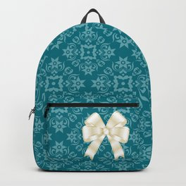 With ribbon Backpack