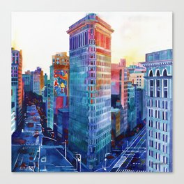 Flatiron Canvas Print
