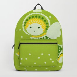 Angel on the green Backpack