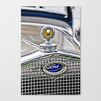ford Canvas Prints featuring Ford by Wicked Light Photography