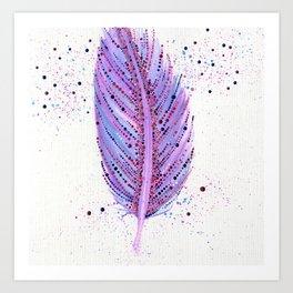 Feather Me Art Print