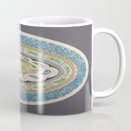 Salmon of Knowledge Mandala Celtic Knot Painting Coffee Mug