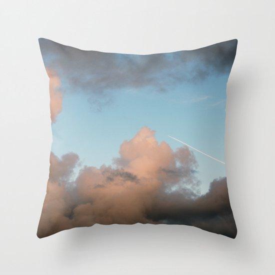 rocket ship... Throw Pillow