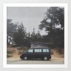 Volkswagen Vanlife 1 Art Print