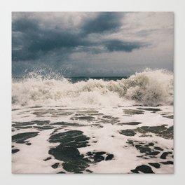 Vero Beach Waves 1 Canvas Print