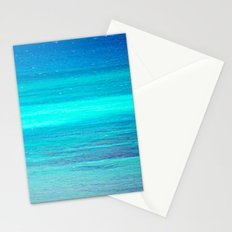 The Turquoise Sea Stationery Cards