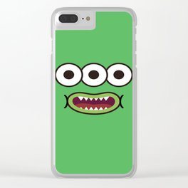 Monsticky Green Clear iPhone Case