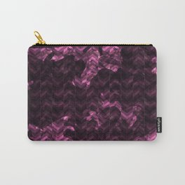 camouflage herringbone Carry-All Pouch