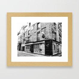 Cambridge Pub Dieppe - Pub Anglais Framed Art Print