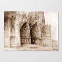 portal Canvas Prints featuring Portal by takmaj