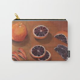 Blood Orange Dissection Carry-All Pouch