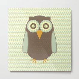 Brown Owl Metal Print