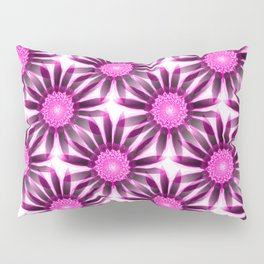 wonderful floral pattern in pink and purple Pillow Sham