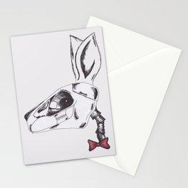 francine the rabbit queen. Stationery Cards