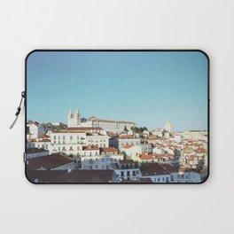 Lisbon Sky - View of Alfama Laptop Sleeve