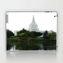 Idaho Falls Temple - Early Morning Laptop & iPad Skin