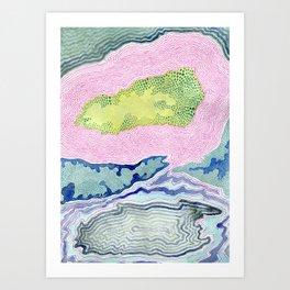 Geode Art Print