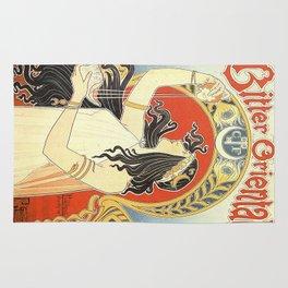 Vintage poster - Bitter Oriental Rug