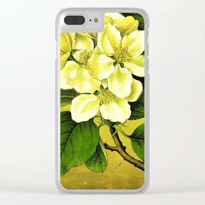 Apple Branch Clear iPhone Case
