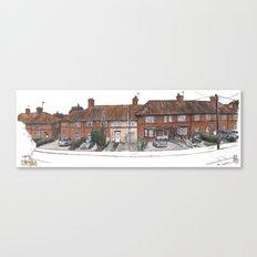 Norwich Walk, Burnt Oak Canvas Print