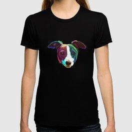 Splash Italian Greyhound Dog T-shirt