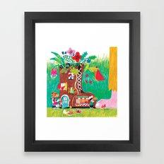 the boot  Framed Art Print