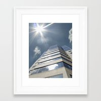 jewish Framed Art Prints featuring Jewish Hospital  by Amber Flowers of Soul Gaze Photography