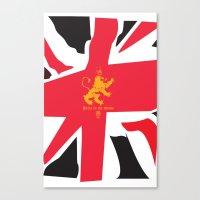 uk Canvas Prints featuring UK by John Choi King