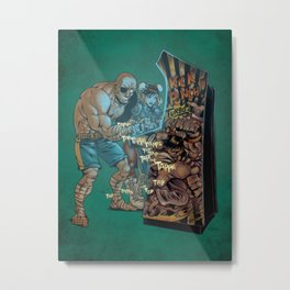 Street Fighter Metal Print